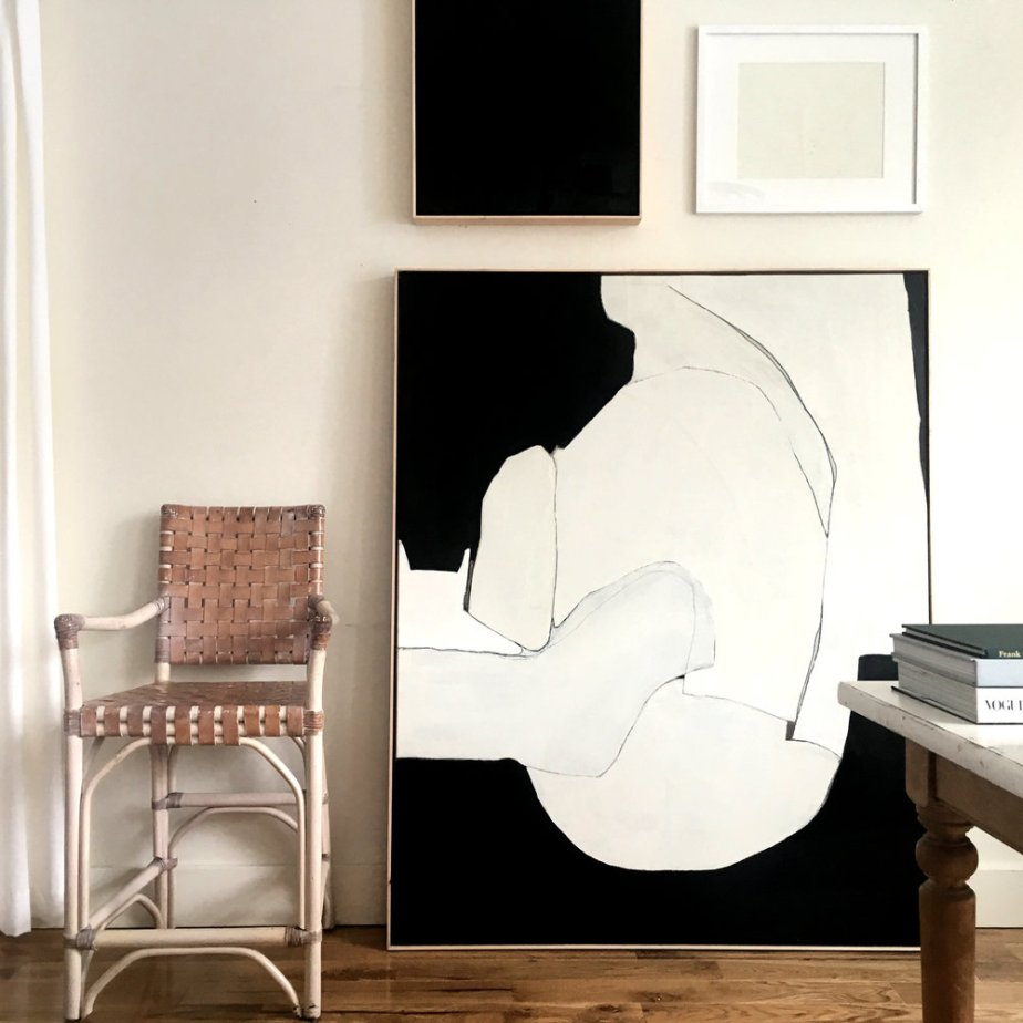 abstract-art oil-painting american-artist emerging-artist collage-asrtist neutral interior-decor interior-design art-for-sale canvas neutral white black michigan american vancouver canadian